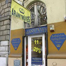 Aranyműves - Podmaniczky utca