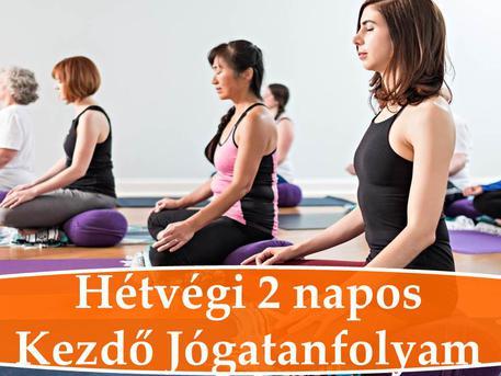 hétvégi jóga tanfolyam