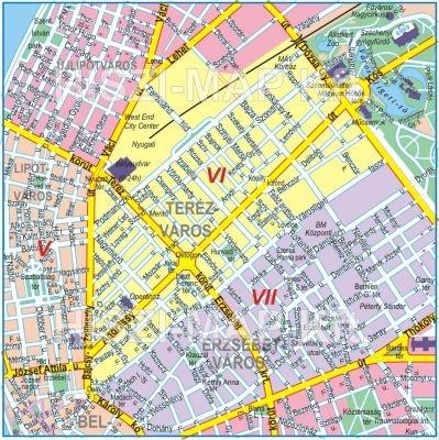 budapest térkép 6 kerület VI. kerület   Terézváros | A rendes év eleji áremelés budapest térkép 6 kerület
