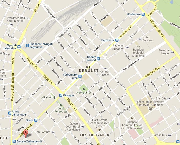 budapest térkép 6 kerület VI. kerület   Terézváros | Tilos lesz megállni az Andrássy úton és  budapest térkép 6 kerület