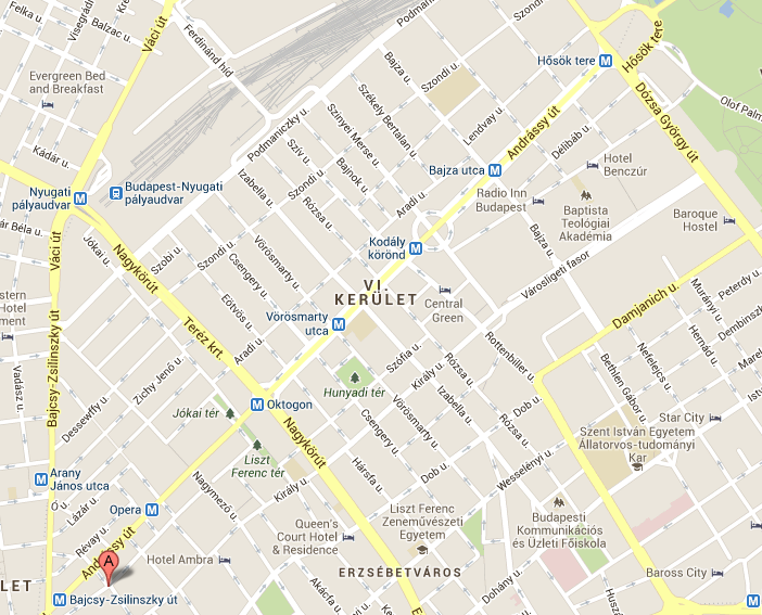 budapest 6 kerület térkép VI. kerület   Terézváros | Tilos lesz megállni az Andrássy úton és  budapest 6 kerület térkép
