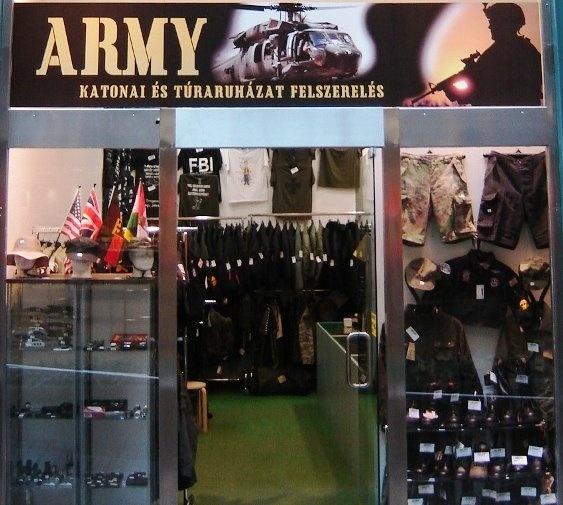 a482ffa759 VI. kerület - Terézváros | Army Katonai és Túrafelszerelés - WestEnd ...