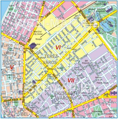 budapest kerület térkép utcákkal VI. kerület   Terézváros | A rendes év eleji áremelés budapest kerület térkép utcákkal